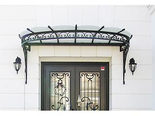 建築装飾金物「キャノピー・ドア・面格子」