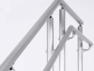 ステンレス製手摺 [自立型] AR-V400