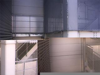 防鳥ワイヤーシステム