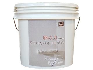 1缶に卵殻160個分を再利用した塗料【エッグペイント】