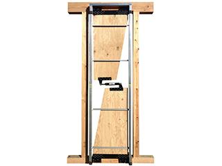 木造建物用制震ダンパー【Hiダイナミック制震工法】外壁設置型