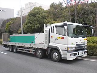 大型セルフローダー【12t積載車】<br> (レンタル用作業車)