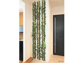 連接グリーン【グリーンパネル】木目板とグリーンのイメージがマッチした演出ができるタイプ