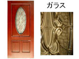 <Westad>木製外部ドア 【ツガ】