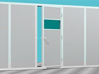防音パネルドア・折れ戸・引き戸仕様