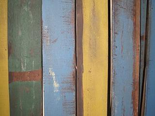 アメリカ古材【トロピカルバーンボード】(ヤシ系広葉樹 塗装古材)
