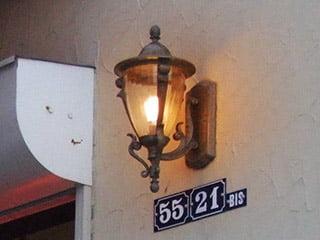 輸入照明「デザイナーズファウンテン」