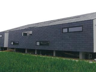 屋根・壁一体 天然スレート