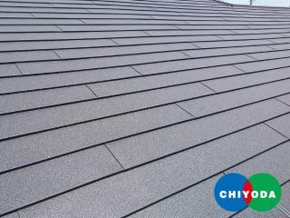特殊遮熱塗料ガルバリウム鋼板 GOKUルーフ(横葺金属屋根)