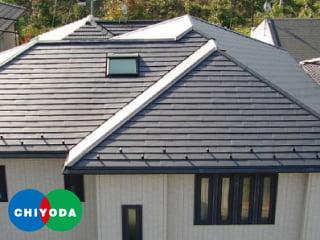 ガリバリウム塗装鋼板 チヨダルーフルMore(横葺金属屋根)
