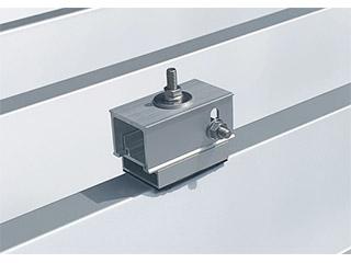 重ね式折板屋根用太陽光架台【DKS1】