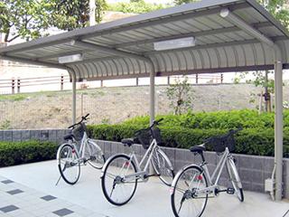 自転車置場 自転車ルーフ 《サイクルロビー》