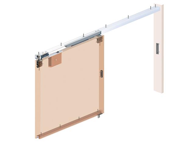 建具用引戸クローザー装置【スライデックス・ソフトクローザー】