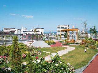 屋上緑化【D's ガーデンシステム】