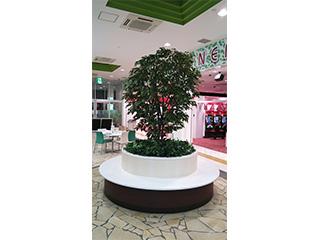 フェイク 立ち木(壁面緑化)