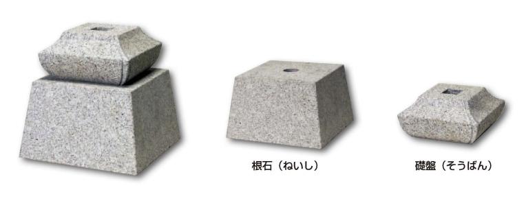 柱石 <束石 沓石>