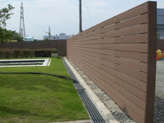 木材・プラスチック再生複合材「エコMウッド」 FENCE(フェンス材)