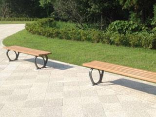 木材・プラスチック再生複合材「エコMウッド」 BENCH(ベンチ材)