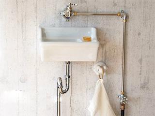 壁付ユニット<br> (手洗器壁付Sレクタングル)