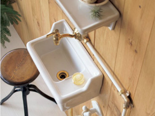 手洗ユニット「手洗い器壁付ユニット」