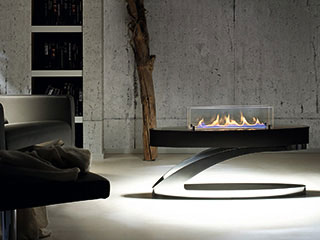 ebios fire バイオエタノール暖炉<br> ELIPSE Z