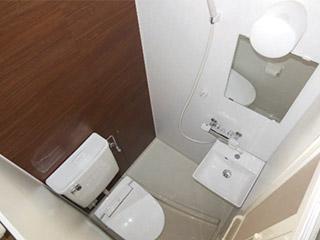 最小3点式シャワーユニット