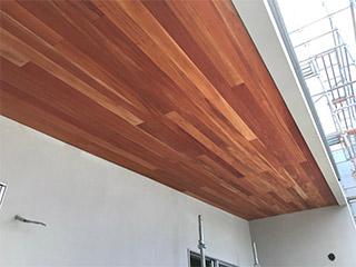 【無垢壁材】マホガニー羽目板 無塗装品
