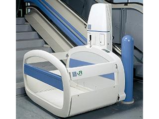 階段昇降機(車椅子型式)