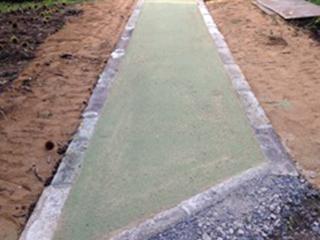 香竹保水舗装