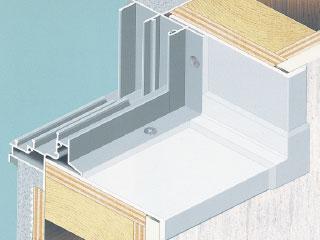浴室用樹脂製窓枠<br> マルチユース 窓枠カバー