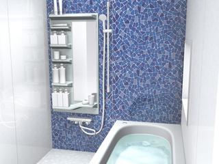 リフォーム用浴室収納 シェルファイン