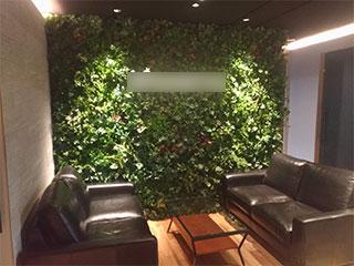壁面緑化(造花)