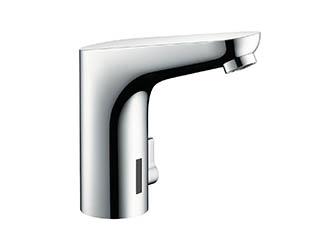 フォーカス自動洗面混合水栓 温度調節付