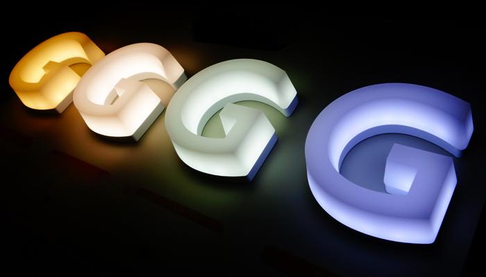さまざまなカラー展開可能なLEDサイン&切り文字「G-Style シリーズ」