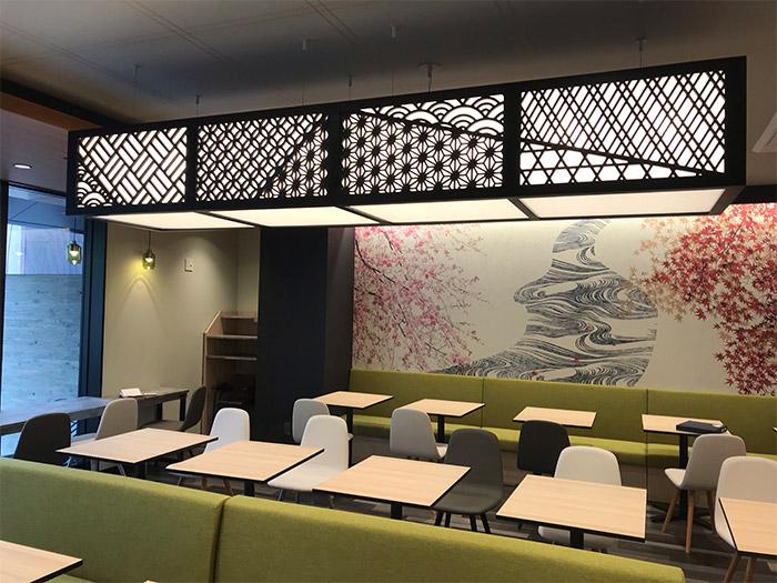 建築様式欄間の要素を現代建築に合わせたデザインパネル「RANMA(らんま)」