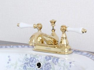 JODEN水栓金具 ビクトリアシリーズ 4PLVG<br> (レバーハンドル-ブラス)