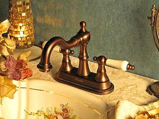 マチルダ【Matilda】水栓金具 ハーデンORB<br> レバーハンドル 4インチタイプ混合水栓
