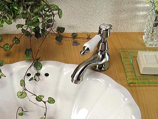 マチルダ【Matilda】水栓金具 サブリナ-BN<br> 単水栓レバーハンドル