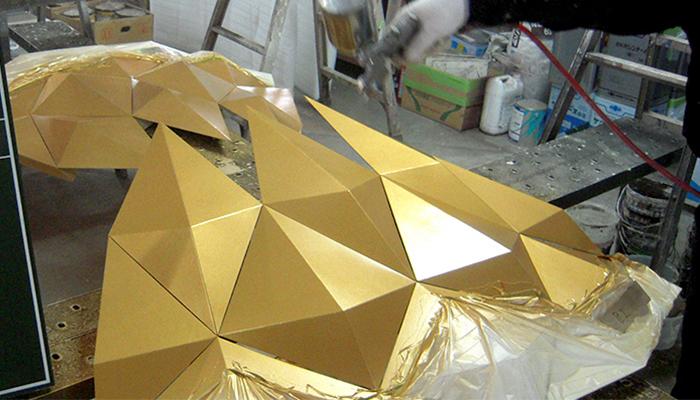セーリングゴールド金色塗料