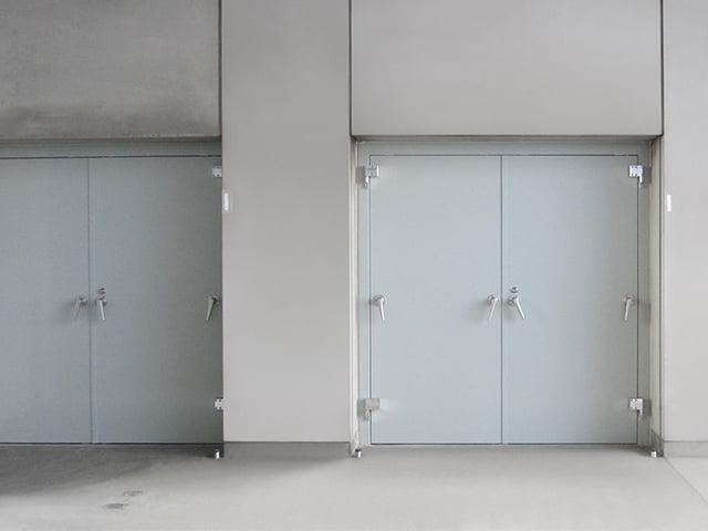 【ミズガード】スイング式防水扉