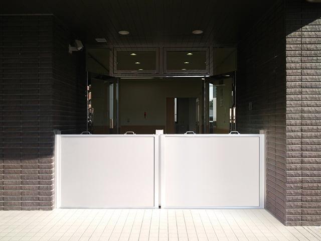 【ミズガード】パネル脱着式防水板