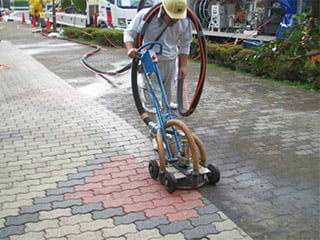 超高圧水による洗浄工法 『SJ-V工法』