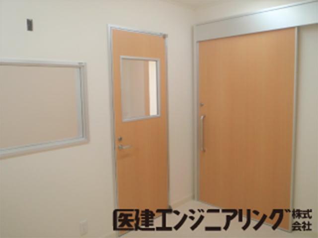 放射線防護ドア・観察窓
