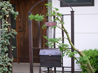 オリジナル機能門柱