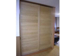 桐の引き戸、ドア