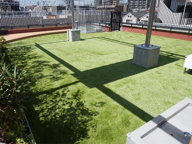景観用人工芝+下地マット