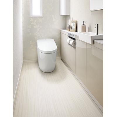 ハイドロセラ・フロアJ 全面セラミック住宅トイレ用床材