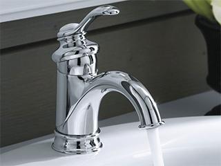 フェアファックス シングルレバー洗面用混合栓<br> K-12182