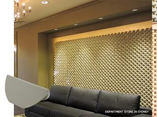 セラミックタイル 「デコウォールリーフ」<br> Deco wall Leaf