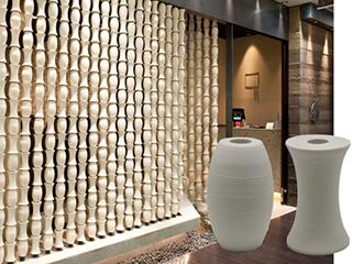 セラミックパーテーション 「バンブースクリーン」<br> Bamboo Screen